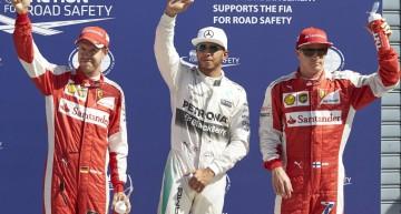 Italia F1 calificări: Hamilton se impune în faţa celor de la Ferrari