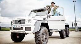 Lewis Hamilton se dă mare cu Mercedes-ul său G 63 AMG 6×6