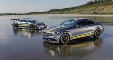 Mercedes-AMG C 63 Coupe Edition 1 este de o frumusețe rară