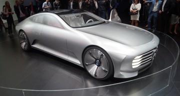 LIVE@IAA: Conceptul Mercedes-Benz IAA. Cum va arăta viitorul CLS