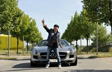 Scorpions SLS AMG Roadster