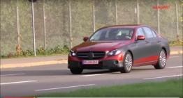 Noul Mercedes E-Class 2016 surprins din nou pe cameră