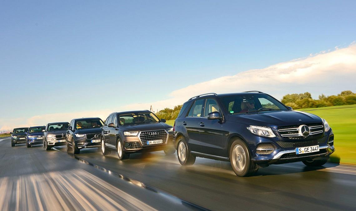 Mercedes-Benz GLE, singur împotriva tuturor în testul mamut Auto Bild