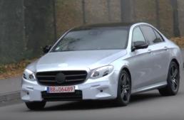 VIDEO SPION: Noul Mercedes E-Class dezbrăcat de secrete