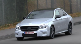 VIDEO SPION: Noul Mercedes E-Class dezbrăcat de secrete