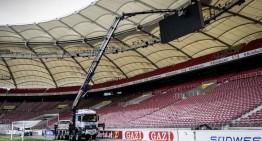 Misiune grea pentru camionul Arocs la Mercedes-Benz Arena