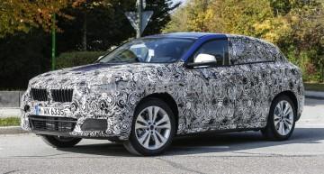 BMW X2 iese la iveală – primele fotografii spion