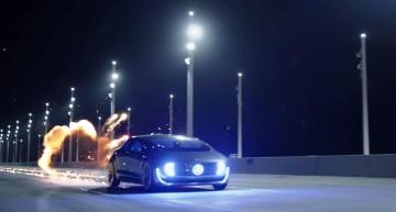 Înapoi în viitor – Reclame nou-nouțe la Mercedes-Benz F015 Luxury in Motion