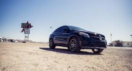 Mercedes GLE 450 AMG Coupe. Un gigant traversează America