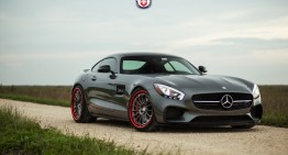 Îi stă bine cu orice! Mercedes-AMG GT S încălțat cu jante HRE