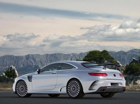 Mercedes-AMG S63 Coupe Mansory