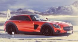 Cum arată Mercedes-AMG GT Shooting Brake în viziunea unui artist