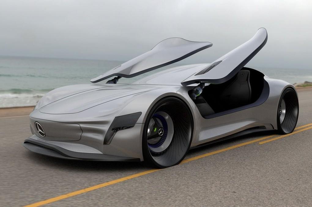 Viitorul începe azi – Conceptul Mercedes-Benz SLPURE