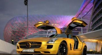 Mirajul deșertului – SLS AMG Desert Gold
