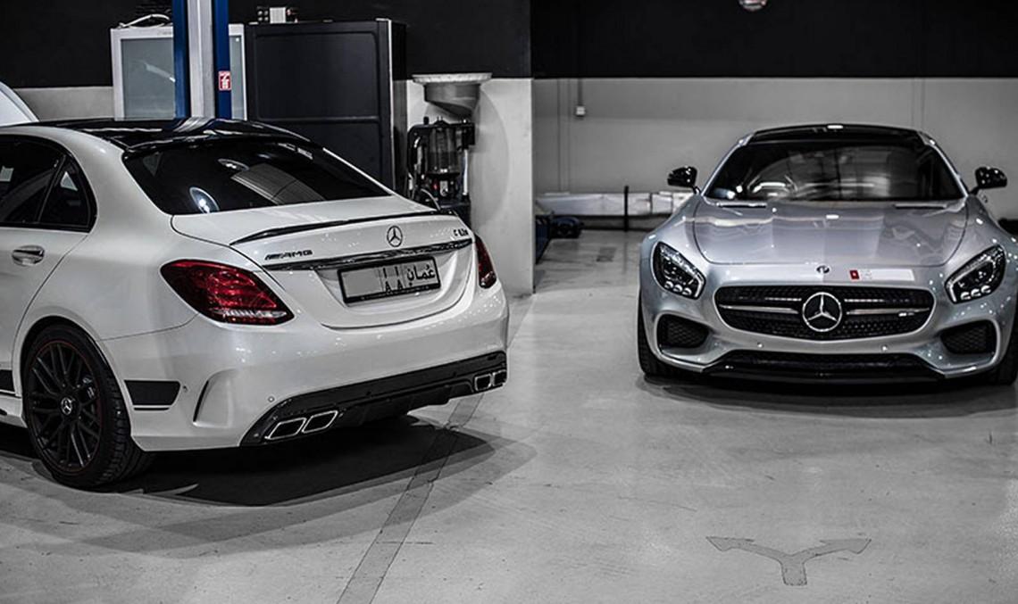 Mercedes-AMG GT S și C63 AMG tunate de PP-Performance. Prea puternice?