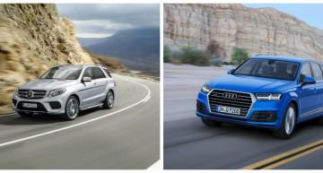 Vânzări auto în primele nouă luni din 2015: Mercedes-Benz a depășit Audi