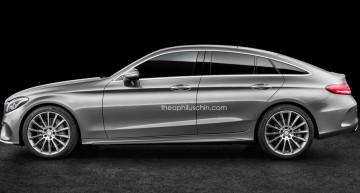 Simulări digitale cu Baby CLS ne fac să visăm la un rival pentru BMW Seria 4 GC