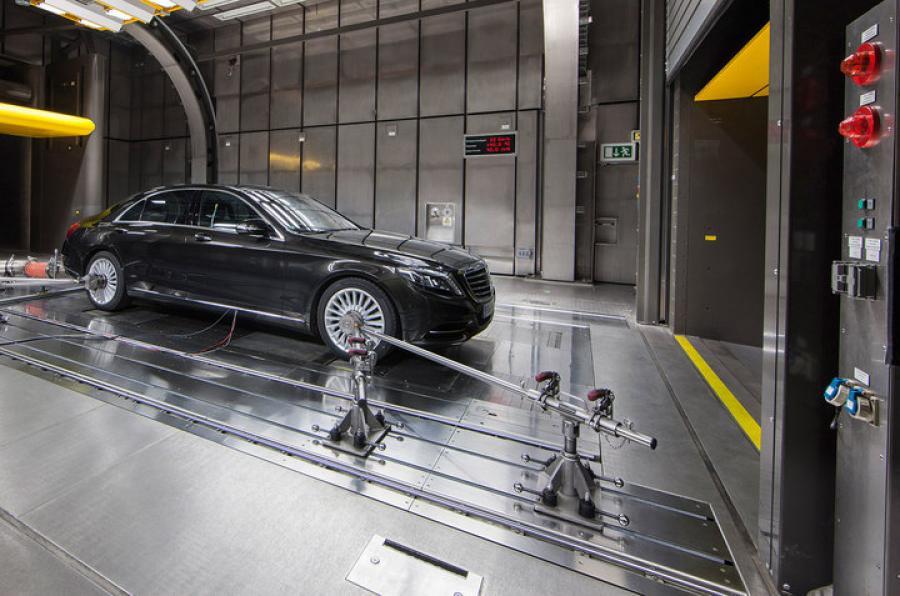 Mercedes devine eco, folosind aer condiționat bazat pe CO2