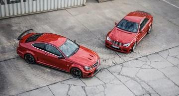Mercedes-Benz C63 & CLK63 AMG Black Series – Mașinile fac selfie-uri?