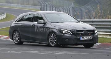 Haine noi pentru Mercedes-Benz CLA Shooting Brake facelift
