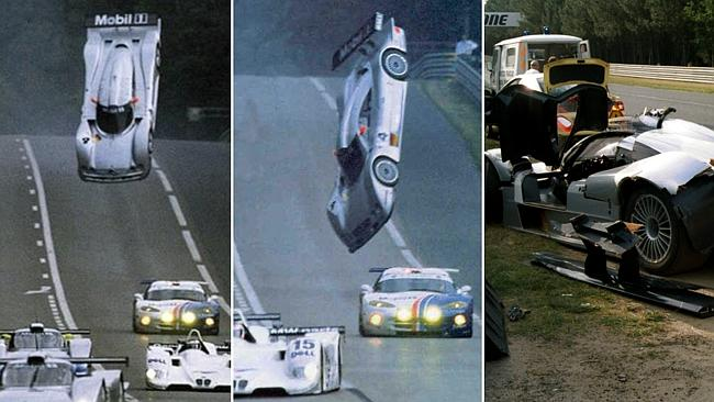 TOP PATRU accidente teribile din motorsport, cu mașini Mercedes (video)
