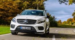 Mercedes-Benz GLE calificat pentru premiul TOP SAFETY PICK+