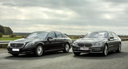 Exclusiv: primul test comparativ Mercedes-Benz S500 4Matic vs BMW 750 Li xDrive