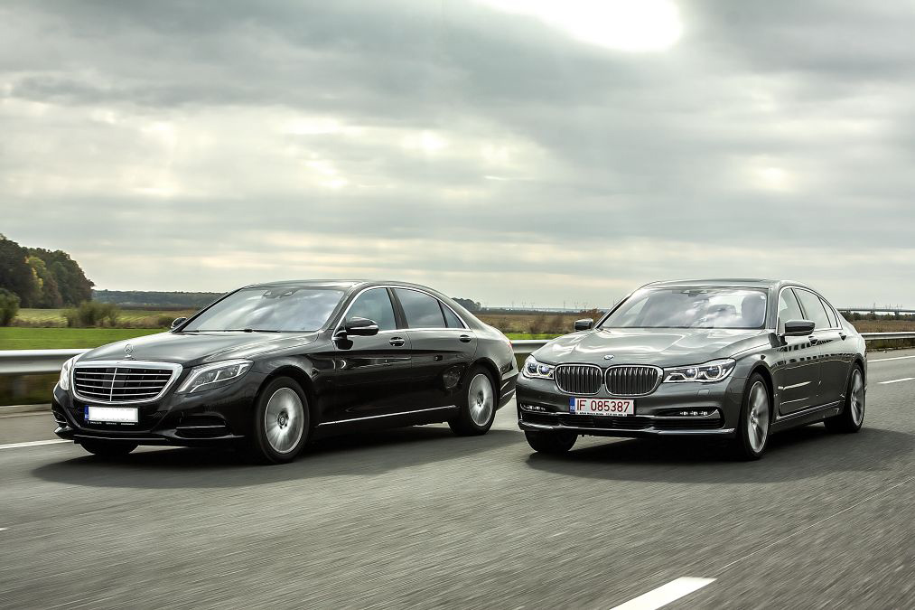 Exclusiv Primul Test Comparativ Mercedes Benz S500 4matic