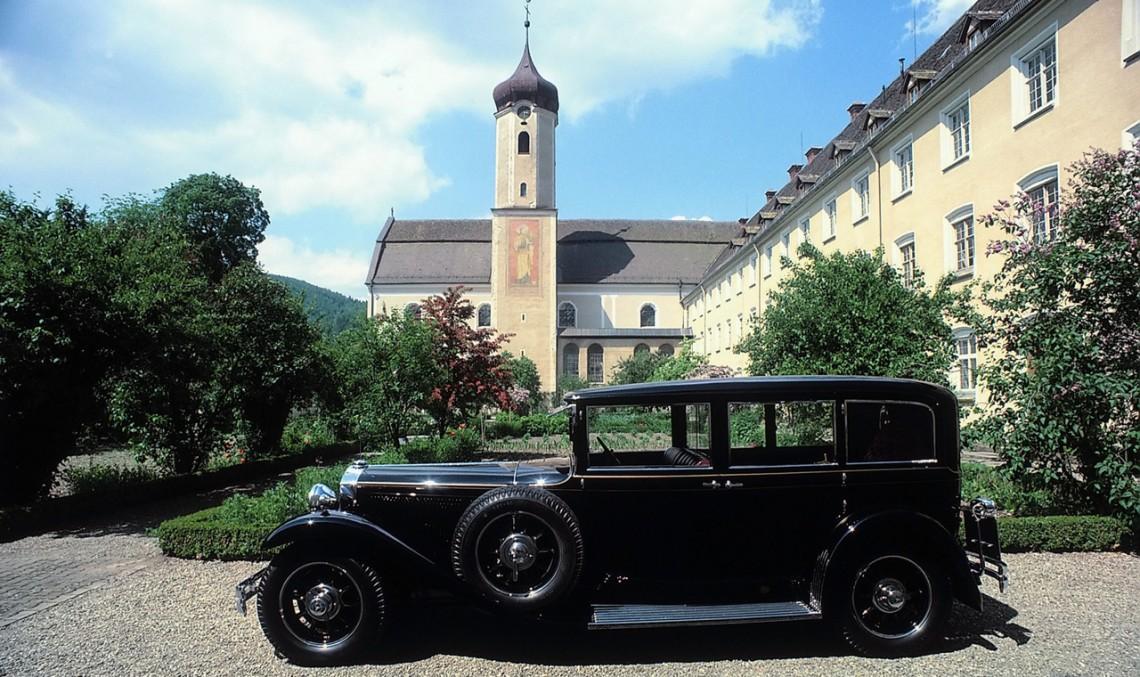 Mercedes-Benz Nurburg 460 – Primul papamobil