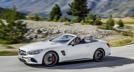 Mercedes-Benz SL facelift, dezvăluit oficial. DETALII COMPLETE