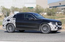 SPIONAJ: Mercedes GLC Coupe 2017 în versiunea AMG Line