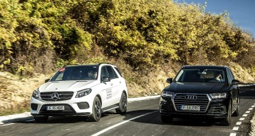 Goliat contra Goliat. Mercedes GLE 350 d versus noul Audi Q7 3.0 TDI