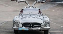 Cel mai dorit Mercedes-Benz 300 SL Gullwing, acum de vânzare