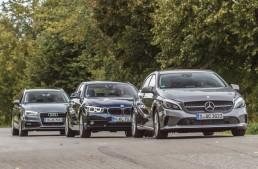 PRIMUL TEST COMPARATIV Mercedes-Benz A 180 versus Audi A3 Sportback 1.4 TFSI, BMW 118i