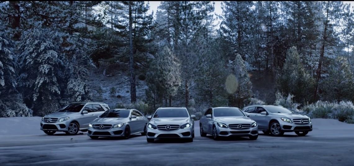 De Crăciun, părinții și copiii inversează rolurile în reclama Mercedes-Benz