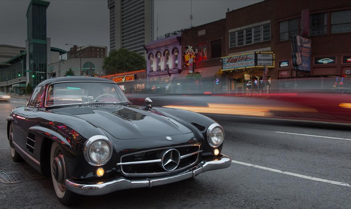 Paradisul Mercedes-urilor gullwing – Peste 20 la un loc