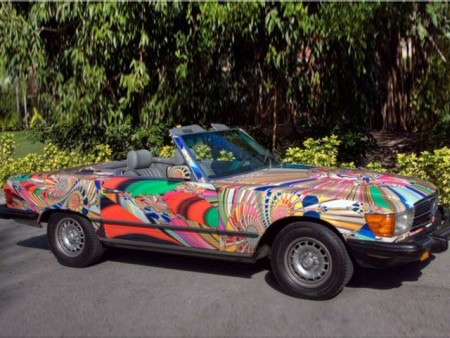 Hippie Mercedes-Benz SL