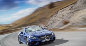 Alege destinația! Mercedes-Benz SL alege drumul perfect