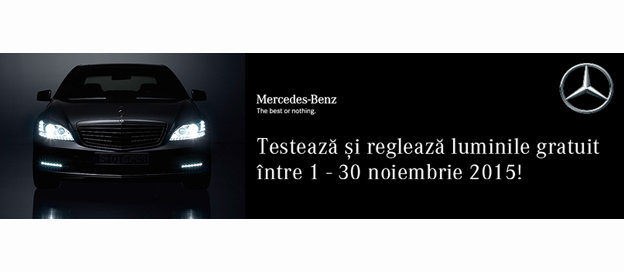 Mercedes-Benz test gratuit de lumini 2