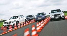 Test comparativ Mercedes-Benz GLC vs Audi Q5, BMW X3, Volvo XC60