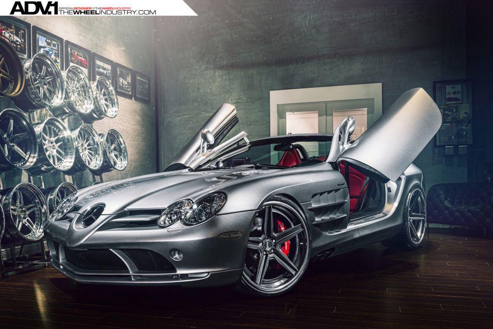 Mercedes-Benz SLR McLaren – mașina clasică de mâine poartă jante ADV1