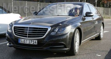 Exclusiv: Mercedes-Benz S-Class facelift