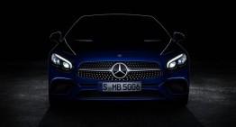 Noul Mercedes-Benz SL apare din senin, înaintea debutului său de la Los Angeles