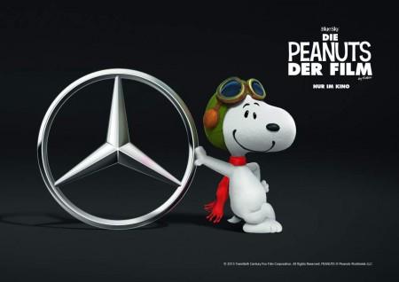 Snoopy Mercedes-Benz V-Class