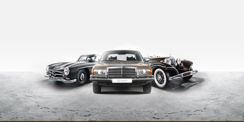 Mercedes-Benz retro