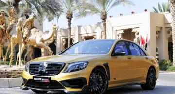 Brabus Rocket 900 Gold Edition – furtună în deșert la Salonul Auto de la Dubai
