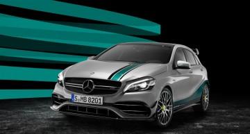 Ediție specială Mercedes-AMG A 45 pentru a sărbători anul senzațional din Formula 1