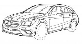 Fotografii oficiale dezvăluie Mercedes-Benz CLA Shooting Brake facelift