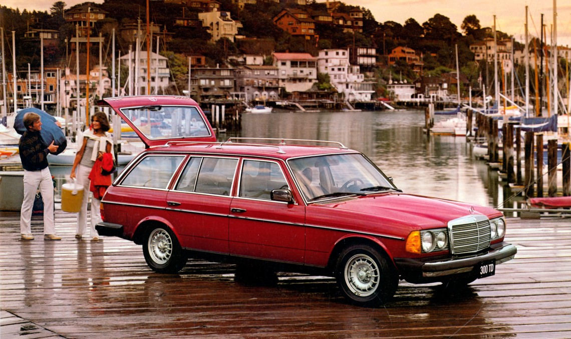 Bloomberg: Mercedes W123 T-Modell nu are moarte
