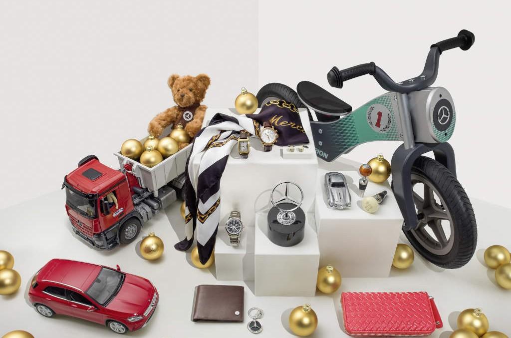 Cumpărături de ultimă oră – Darurile Mercedes-Benz